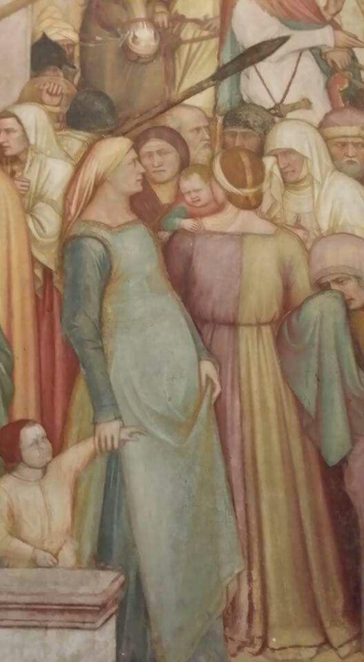 Altichiero da Zevio XV secolo Padova Cappella del  Santo